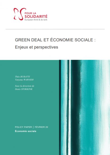 Green deal et économie sociale : enjeux et perspectives